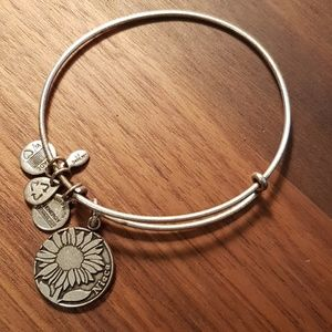 Alex and ani flower niece braclet